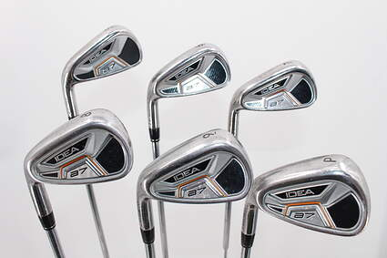 Adams Idea A7 Iron Set 5-PW Stock Steel Shaft Steel Regular Left Handed 38.75in