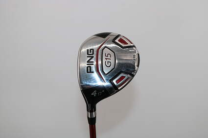 Ping G15 Fairway Wood 4 Wood 4W 17° Ping TFC 149F Graphite Regular Left Handed 43.0in