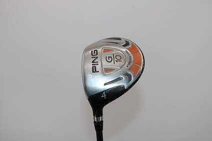 Ping G10 Fairway Wood 4 Wood 4W 17° Grafalloy ProLaunch Red FW Graphite Stiff Left Handed 43.0in