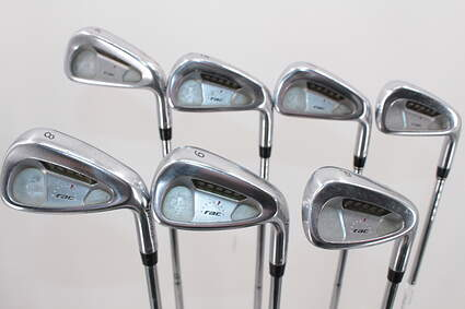 TaylorMade Rac LT Iron Set 4-PW True Temper Dynamic Gold S300 Steel Stiff Right Handed 38.0in