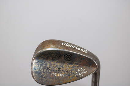 Cleveland 588 RTX 2.0 Black Satin Wedge Gap GW 53° Cleveland ROTEX Wedge Steel Wedge Flex Right Handed 36.0in