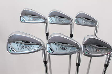 Ping S56 Iron Set 5-PW Ping AWT Steel Regular Right Handed Green Dot 37.75in