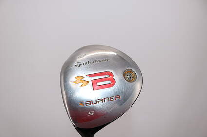 TaylorMade 2008 Burner Fairway Wood 5 Wood 5W 18° TM Reax 4.8 Graphite Stiff Left Handed 42.25in