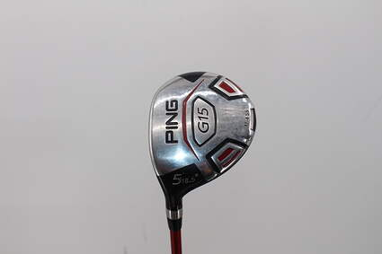 Ping G15 Fairway Wood 5 Wood 5W 18.5° Ping TFC 149F Graphite Regular Left Handed 42.5in