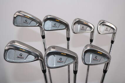TaylorMade 360 XD Iron Set 4-PW Stock Steel Shaft Steel Stiff Right Handed 38.0in