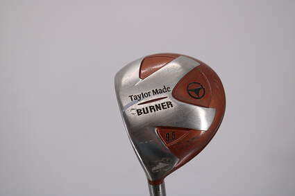 TaylorMade 1998 Burner Fairway Wood 2 Wood 2W 10° Stock Steel Shaft Steel Regular Left Handed 43.5in
