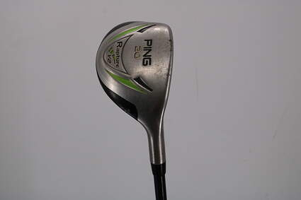 Ping Rapture V2 Hybrid 3 Hybrid 20° Ping TFC 939H Graphite Regular Right Handed Black Dot 40.25in