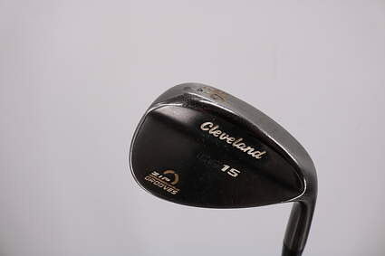 Cleveland CG15 Black Pearl Wedge Sand SW 56° 14 Deg Bounce Cleveland Traction Wedge Steel Wedge Flex Right Handed 35.5in