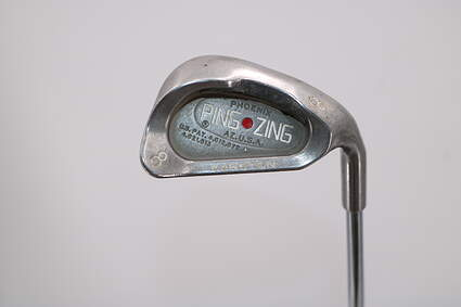 Ping Zing Single Iron 8 Iron Stock Steel Shaft Steel Stiff Right Handed Red dot 36.25in