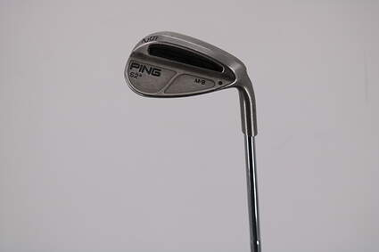 Ping MB Wedge Gap GW 52° Stock Steel Shaft Steel Stiff Right Handed Black Dot 36.75in