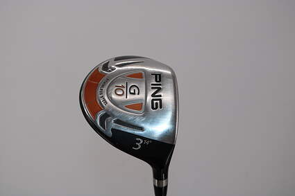 Ping G10 Fairway Wood 3 Wood 3W 14° Grafalloy ProLaunch Red FW Graphite Stiff Right Handed 43.0in