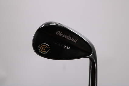 Cleveland CG15 Black Pearl Wedge Sand SW 56° 14 Deg Bounce Cleveland Traction Wedge Steel Wedge Flex Right Handed 35.75in
