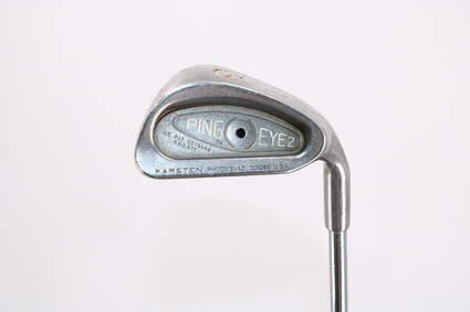 Ping Eye 2 Single Iron 6 Iron Stock Steel Shaft Steel Stiff Right Handed Black Dot 37.5in