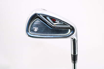 TaylorMade R9 Single Iron 6 Iron Stock Steel Shaft Steel Stiff Right Handed 37.5in