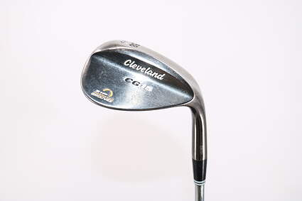 Cleveland CG15 Black Pearl Wedge Sand SW 58° 12 Deg Bounce Cleveland Action Ultralite W Steel Wedge Flex Right Handed 36.0in