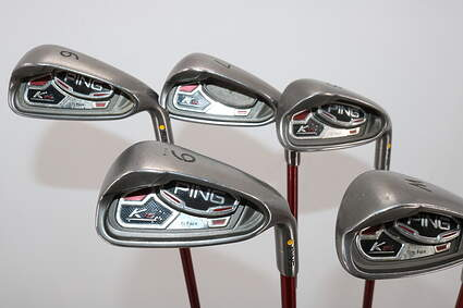 Ping K15 Iron Set 6-PW Ping TFC 149I Graphite Soft Regular Right Handed Yellow Dot 38.0in