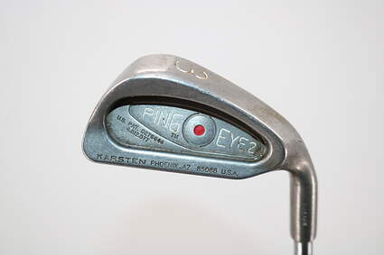 Ping Eye 2 Single Iron 3 Iron Stock Steel Shaft Steel Regular Right Handed Red dot 39.0in