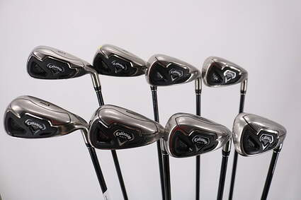 Callaway Fusion Wide Sole Iron Set 3-PW Stock Graphite Shaft Graphite Ladies Right Handed 37.0in