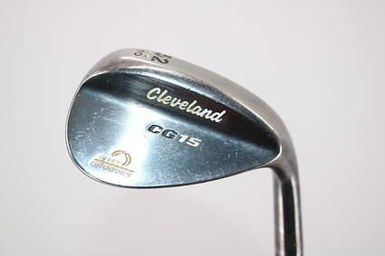 Cleveland CG15 Black Pearl Wedge Gap GW 52° 10 Deg Bounce Stock Steel Shaft Steel Wedge Flex Right Handed 35.5in