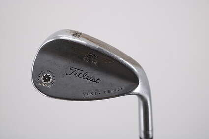 Titleist Vokey Spin Milled SM4 Chrome Wedge Pitching Wedge PW 56° Dynamic Gold Spinner Steel Wedge Flex Right Handed 35.5in