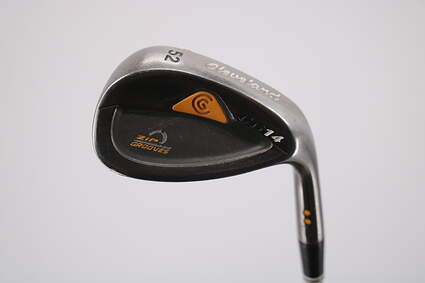 Cleveland CG14 Gunmetal Wedge Gap GW 52° Cleveland Traction Wedge Steel Wedge Flex Right Handed 35.5in