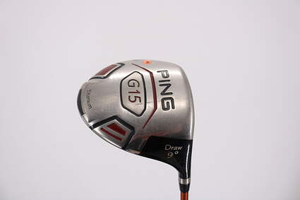 Ping G15 Draw Driver 9° Ping TFC 129D Graphite X-Stiff Right Handed 45.5in