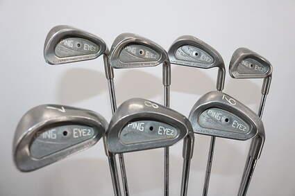Ping Eye 2 + No + Iron Set 3-9 Iron Stock Steel Shaft Steel Regular Right Handed Black Dot 38.0in
