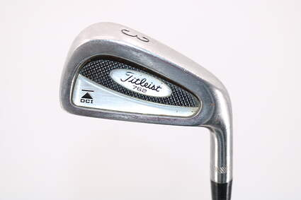 Titleist DCI 762 Single Iron 3 Iron Stock Steel Shaft Steel Stiff Right Handed 39.5in