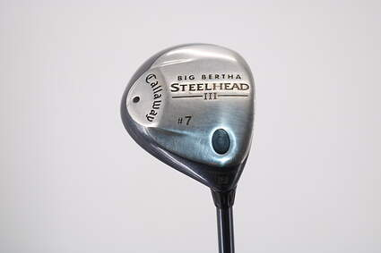 Callaway Steelhead III Fairway Wood 7 Wood 7W Stock Graphite Shaft Steel Regular Right Handed 41.5in