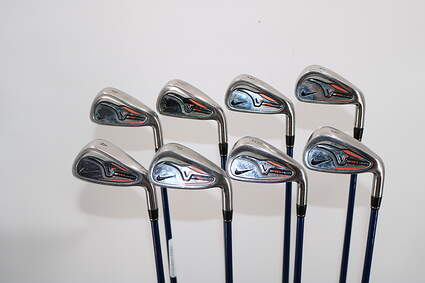 Nike Victory Red Pro Cavity Iron Set 4-PW GW Project X 5.5 Graphite Graphite Regular Right Handed 37.75in