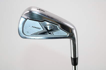 Callaway X Forged Single Iron 4 Iron Dynamic Gold Sensicore R300 Steel Regular Right Handed 39.0in