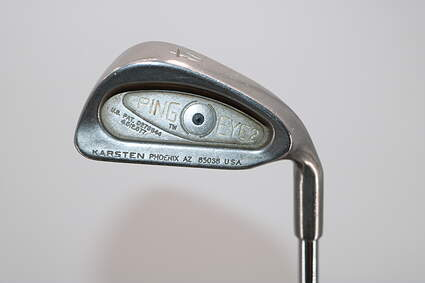 Ping Eye 2 Single Iron 4 Iron Ping AWT Steel Stiff Right Handed Black Dot 38.5in