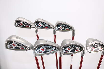 Ping G15 Iron Set 5-PW SW Ping TFC 149I Graphite Regular Right Handed Green Dot 37.75in