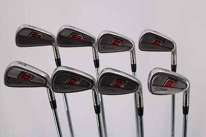Titleist 755 Forged Iron Set 4-PW Stock Steel Shaft Steel Stiff Right Handed 38.0in