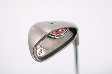 Ping G10 Single Iron 8 Iron Ping AWT Steel Senior Right Handed Blue Dot 36.25in