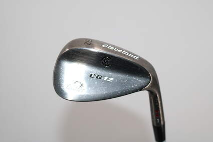 Cleveland CG12 Black Pearl Wedge Gap GW 52° 10 Deg Bounce True Temper Dynamic Gold Steel Wedge Flex Right Handed 35.5in