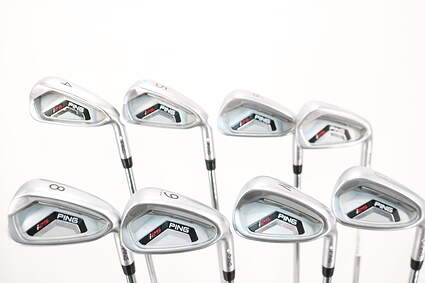 Ping I25 Iron Set 4-PW GW Ping CFS Steel Regular Right Handed White Dot 38.0in