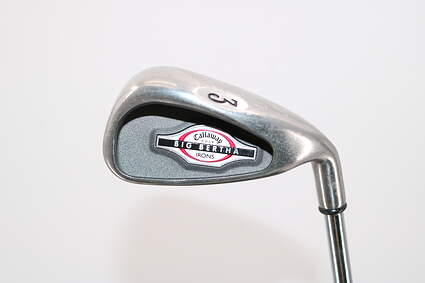 Callaway 2002 Big Bertha Single Iron 3 Iron 21° Callaway Big Bertha Steel Steel Uniflex Right Handed 39.25in