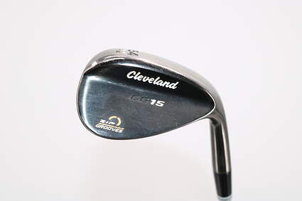 Cleveland CG15 Black Pearl Wedge Sand SW 54° 14 Deg Bounce Cleveland Traction Wedge Steel Wedge Flex Right Handed 35.75in