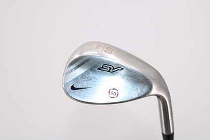 Nike SV Tour Chrome Wedge Lob LW 60° 6 Deg Bounce Stock Steel Shaft Steel Wedge Flex Right Handed 35.0in