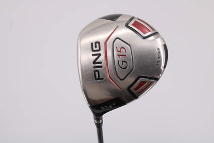 Ping G15 Driver 10.5° ProLaunch AXIS Red Graphite Stiff Left Handed 45.25in