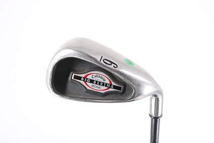 Callaway 2002 Big Bertha Single Iron 6 Iron Callaway RCH 75i Graphite Light Right Handed 37.75in