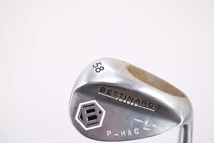 Bettinardi H2 Satin Nickel Wedge Lob LW 58° Project X 6.5 Steel 6.5 Right Handed 35.5in