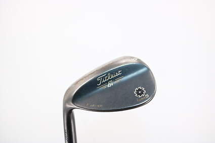 Titleist Vokey SM5 Raw Black Wedge Lob LW 62° 8 Deg Bounce T Grind Project X 6.0 Steel 6.0 Left Handed 35.0in