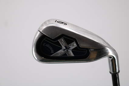 Callaway X-18 Pro Series Single Iron 6 Iron Stock Graphite Shaft Graphite 5.5 Right Handed 37.25in