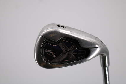 Callaway X-18 Single Iron 8 Iron Dynamic Gold XP S300 Graphite Stiff Right Handed 36.5in
