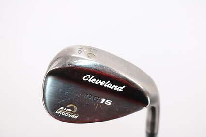 Cleveland CG15 Black Pearl Wedge Sand SW 56° 10 Deg Bounce Cleveland Action Ultralite 50 Steel Wedge Flex Right Handed 35.5in