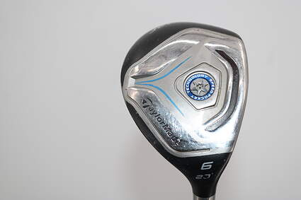 TaylorMade Jetspeed Hybrid 6 Hybrid 23° Stock Graphite Shaft Graphite Ladies Right Handed 38.5in