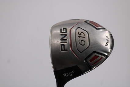 Ping G15 Driver 10.5° Aldila Serrano 60 Graphite Stiff Left Handed 45.5in