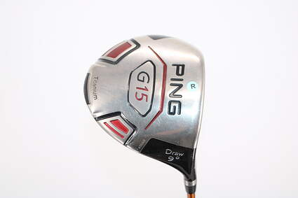 Ping G15 Draw Driver 9° Aldila NVS 65 Graphite Regular Right Handed 44.0in